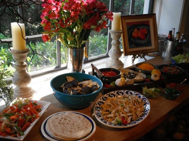 fiesta buffet