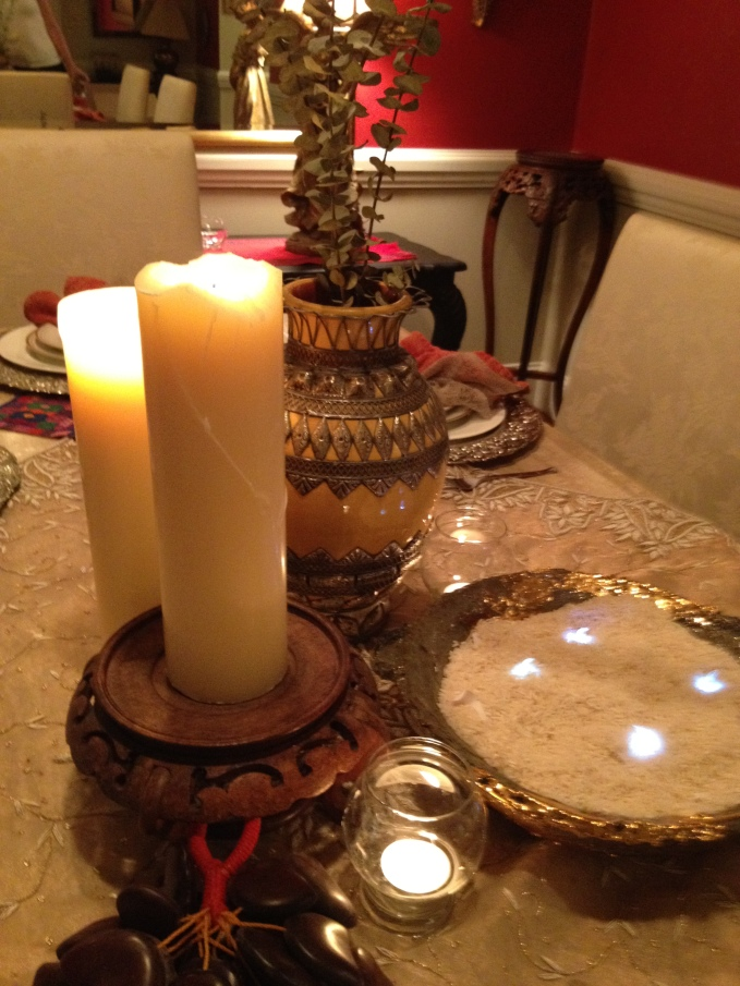 charlie's moroccan table scape