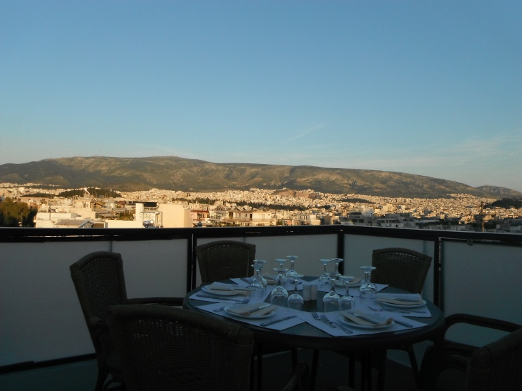 rooftop dining athens
