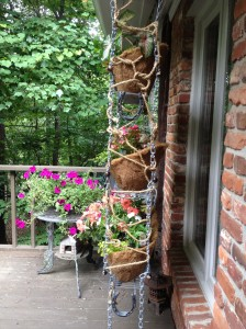 Junk and Scraps Hanging Rack